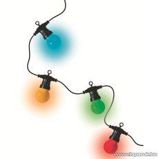 HOME LPL 10 Kültéri 10 db LED-es gömb fényfüzér, színes