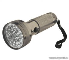HOME MFL 03 LED-es elemlámpa, fém, 28 LED-es