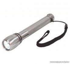HOME MFL 04 LED-es elemlámpa, fém, 3 LED-es