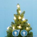 HOME MLC 10/CS LED-es csillag mini fényfüzér, melegfehér