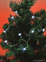 HOME MLC 10/H LED-es hókristály mini fényfüzér, hidegfehér