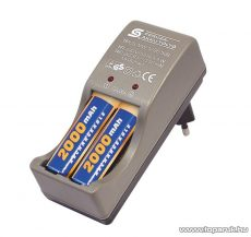 HOME MW 1296/20 Akkumulátortöltő Ni-Cd és Ni-Mh akkuk töltésére
