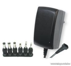 HOME MW 3IP25 Változtatható feszültségű hálózati adapter, 2,25A, 3-12V