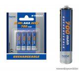 HOME M 700AAA 700 mA Ni-Mh mini ceruza (AAA) akkumulátor, 4 db / csomag