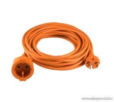 HOME NV 4-10/OR Kéteres hálózati hosszabbító, 10 m, narancs