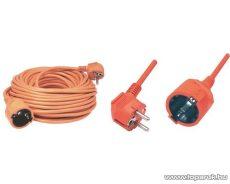 HOME NV 2-20/OR Hálózati hosszabbító, 20 m, narancs