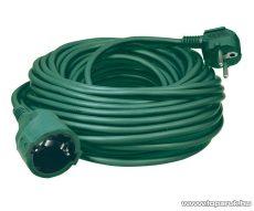 HOME NV 2-5/GR Hálózati hosszabbító, 5 m, zöld