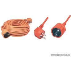 HOME NV 2-5/OR Hálózati hosszabbító, 5 m, narancs