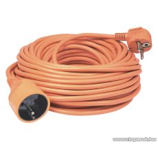 HOME NV 3-40/OR/1,5 Francia csatlakozós hálózati hosszabbító, 40 m, narancs