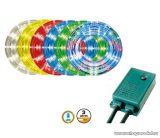 HOME RPL 3105/8 Kültéri LED-es programozható világító cső, 10 m, zöld