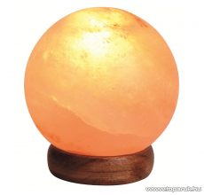 HOME SKL 23G Sókristálylámpa (sólámpa), 2-3 kg tömegű sókristály (gömb alak), 15 W-os izzóval - készlethiány