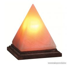 HOME SKL 23P Sókristálylámpa (sólámpa), 2-3 kg tömegű sókristály (piramis alak), 15 W-os izzóval
