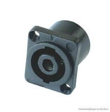 HOME S 1085 - 4 pólusu beépíthető Speakon aljzat, 1 db