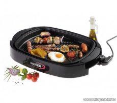 Hauser GR-150 Asztali elektromos grillsütő, 1500 W