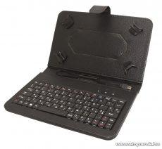 """HOME KB 70X Tablet tok micro USB csatlakozású billentyűzettel, 7""""-os tabletekhez, fekete"""