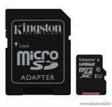 Kingston Secure Digital Micro 128GB SDXC Class10 memóriakártya + SD adapter