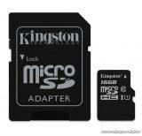 Kingston MicroSDHC 16GB CLASS 10 UHS-I Industrial Temp memóriakártya + SD adapter