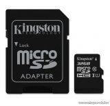 Kingston SDC10G2 Secure Digital Micro 32GB SDHC Class10 memóriakártya + SD adapter