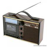SAL RRT 11B Retro kazettás rádió és multimédia lejátszó