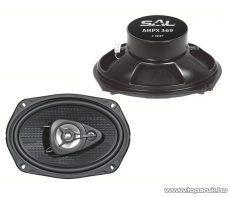 """SAL AHPX 369 - 3 utas 6 x 9"""" ovális autóhangszóró pár, 4 Ohm, 200W-os - megszűnt termék: 2015. október"""