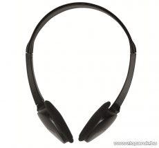 SAL HPH 98 Sztereo fejhallgató, fekete