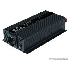 SAL SAI 2000W Feszültség átalakító, inverter, 1000 / 2000 W - megszűnt termék: 2015. május