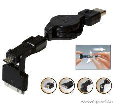 SAL SA 042 USB töltőkábel, 3 in 1 - megszűnt termék: 2016. június