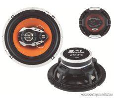 SAL WRX 316 Autóhangszóró-pár, 3 utas, 4 Ohm, 165 mm, 220W-os