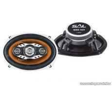 """SAL WRX 469 4 utas 6 x 9"""" ovális autóhangszóró pár, 4 Ohm, 260W-os"""