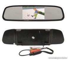 """SAL SA 056 LCD monitor visszapillantó tükörrel, 4,3""""-os kijelző"""