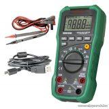 SMA MS 8250B Digitális multiméter, feszültség, áram, ellenállás, frekvencia és kapacitás mérő műszer