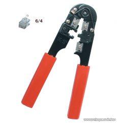 SMA TW 1-6 Telefondugó, préselő fogó, 190 mm