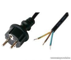 USE N 8-3/1,5 Szerelhető hálózati csatlakozókábel, 3 m
