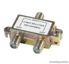 USE TSP 1910 F splitter / F elosztó, 5-1000 MHz, 1 bemenet, 2 kimenet