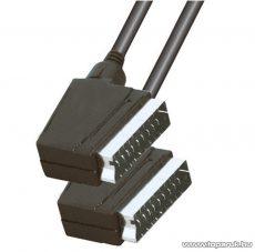 USE VC 3D-3X Euro scart kábel 21 pólusú euro dugó - 21 pólusú euro dugó, 3 m