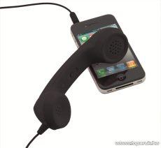 WELT 809420-10 Mobiltelefon kézibeszélő, fekete