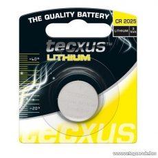 tecxus TC CR2025 3V gombelem, Litium, 1 db