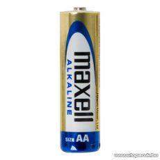 maxell Tartós ceruza elem, AA, LR6, Alkaline, 1,5 V, 4 db / csomag (18720)