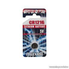maxell CR 1216 Lítium gombelem, 3 V (18743)
