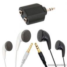 Maxell Fülhallgató szett 20 - 23 000 Hz, 1 pár fehér és 1 pár fekete (52026)