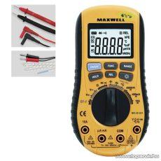 Maxwell MX-25 221 Digitális multiméter automata méréshatár váltással (25221)