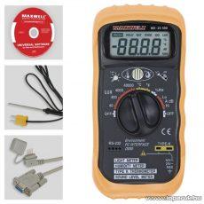 Maxwell MX-25 500 Digitális multiméter RS-232-es PC kapcsolattal (25500)