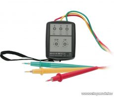 Maxwell MV-25 841 Digitális fázisrotáció indikátor 200V - 480V AC (25841) - készlethiány