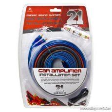 MNC Autó Hi-Fi kábelszett, 21 db-os készlet (20200)
