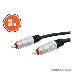 neXus Digitális Koax kábel, RCA dugó - RCA dugó, 3 m (20369) - készlethiány