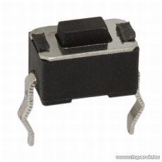 Mikrokapcsoló, 1 áramkör, 0,05A-12V, DC, OFF-(ON), 20 db / csomag (09000)