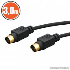 neXus S-VIDEO kábel, 4 p. S-VIDEO dugó - 4 p. S-VIDEO dugó, 3,0 m (20145)