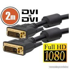 neXus Dual-link DVI kábel, 2 m, aranyozott csatlakozóval (20390)