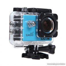 SJCAM SJ4000 WiFi sportkamera (FullHD-s és Wifi-s kalandkamera) vízálló házzal, kék