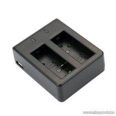 SJCAM DUAL akkumulátor töltő bölcső SJ4000 / SJ5000 / M10 sportkamerákhoz